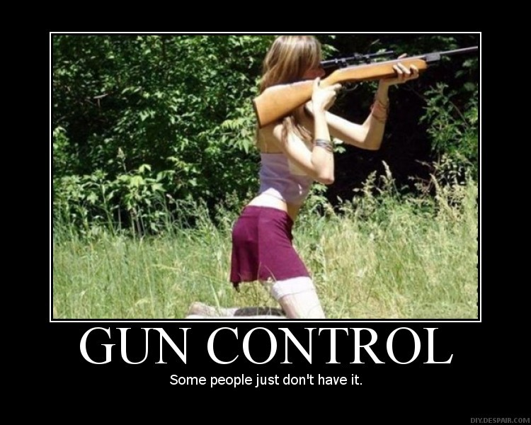 Funny Quote About Gun Control 2 Picture Quote #1