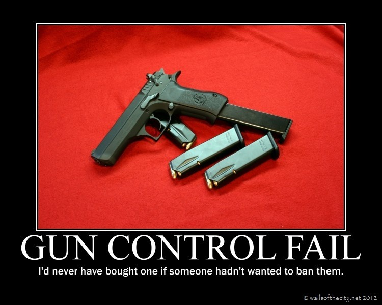 Funny Quote About Gun Control 4 Picture Quote #1
