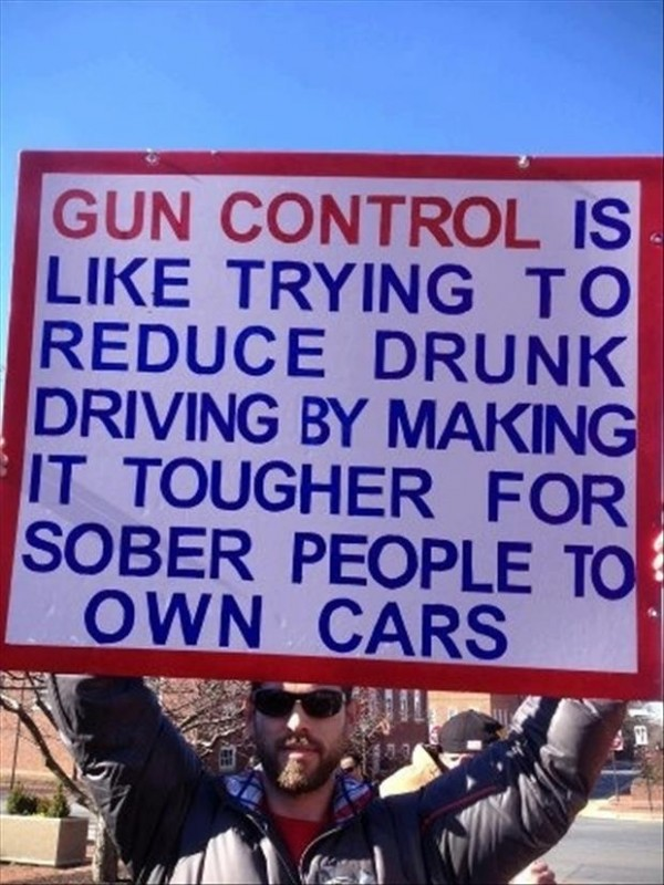 Funny Quote About Gun Control 5 Picture Quote #1