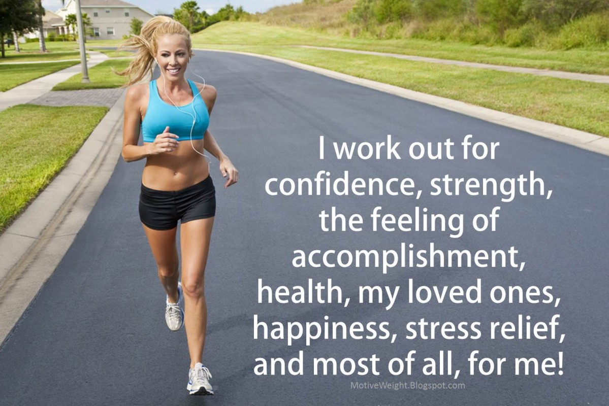 I Love Working Out Quote 1 Picture Quote #1
