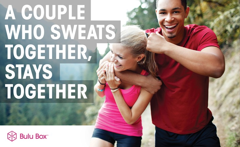 Working Out Together Couples Quote 2 Picture Quote #1