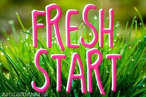 Fresh New Start Quote 1 Picture Quote #1