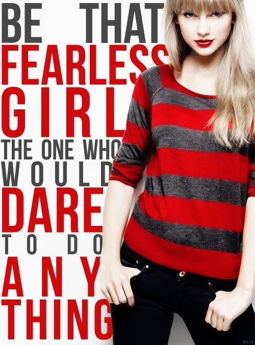 Fearless Quote 9 Picture Quote #1