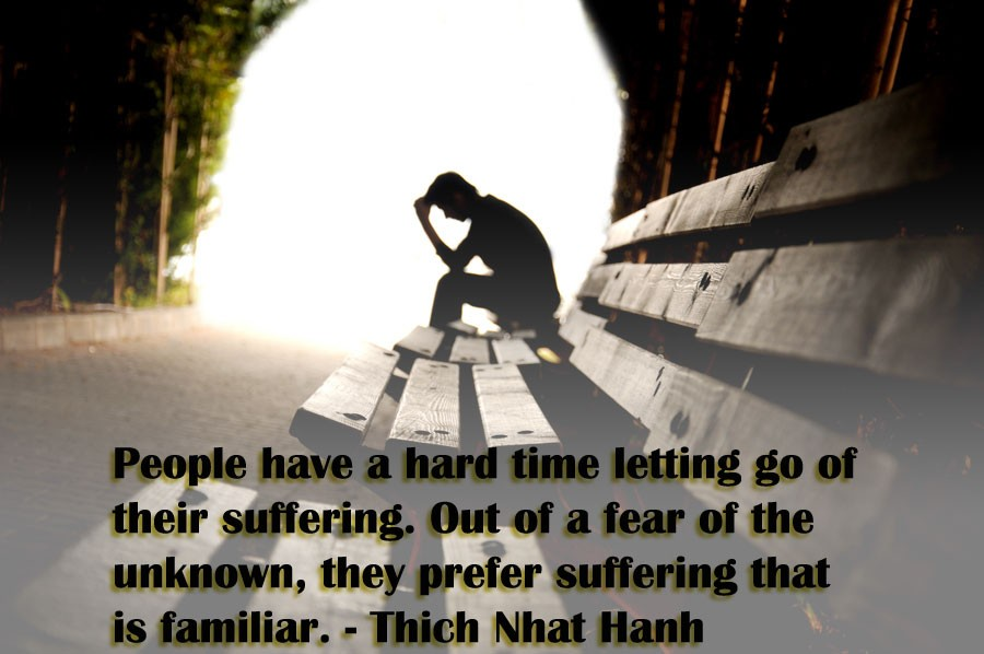 Suffering Quote 1 Picture Quote #1