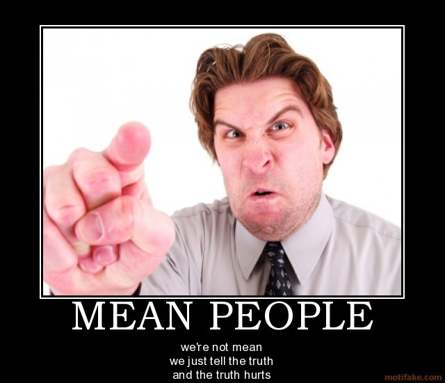 Mean People Quote 4 Picture Quote #1
