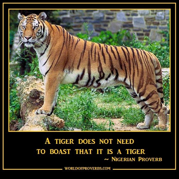 Famous Tiger Quote 1 Picture Quote #1