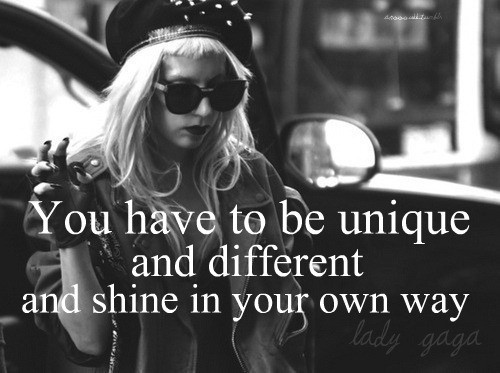 Being Different Quote 1 Picture Quote #1