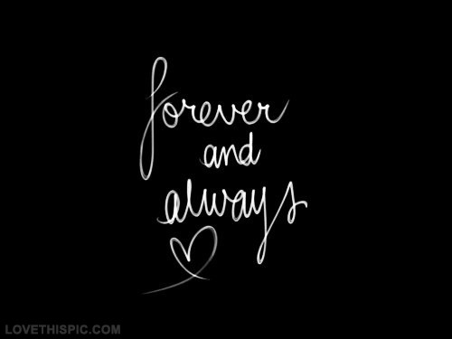 Always And Forever Love Quote 1 Picture Quote #1