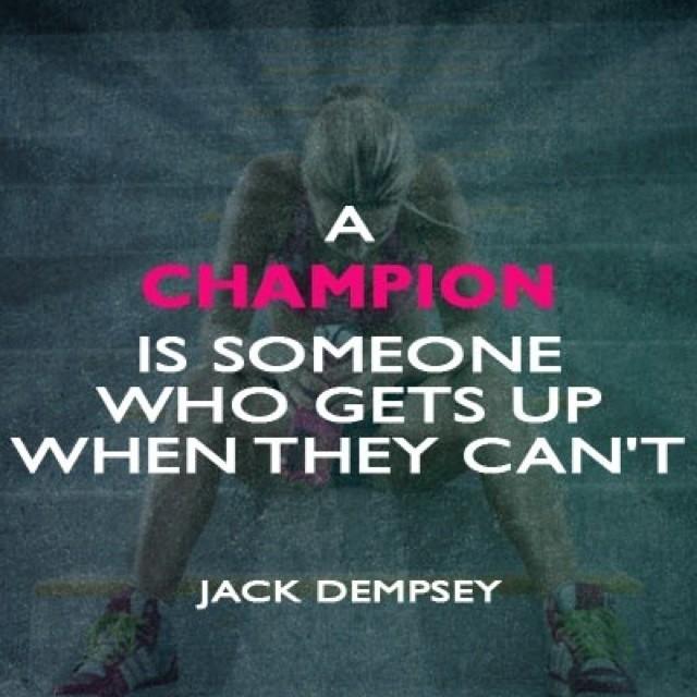 Champion Quote 5 Picture Quote #1