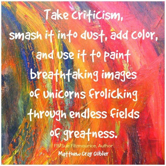 Handling Criticism Quote 3 Picture Quote #1