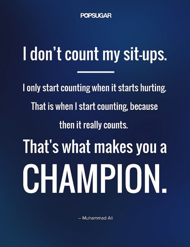 Heart Of A Champion Quote 1 Picture Quote #1
