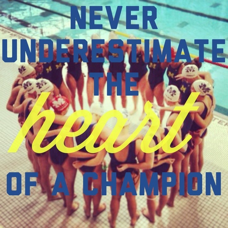 Heart Of A Champion Quote 3 Picture Quote #1