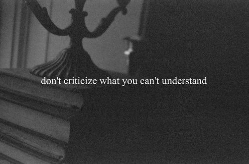 Criticism Quote 7 Picture Quote #1