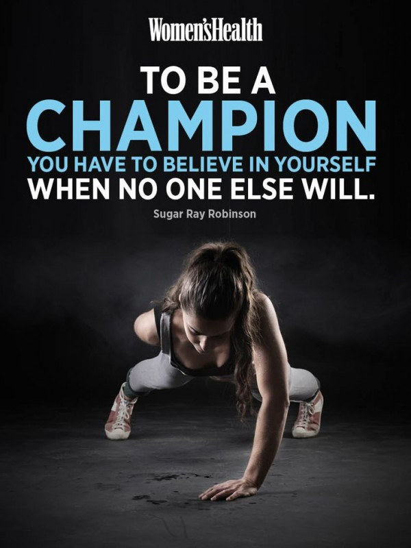 To Be A Champion Quote 1 Picture Quote #1