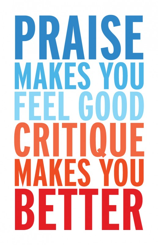 Positive Criticism Quote 2 Picture Quote #1