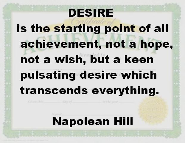 Desire Quote 6 Picture Quote #1