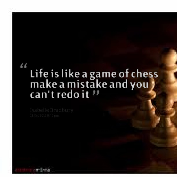 Chess Quote 8 Picture Quote #1