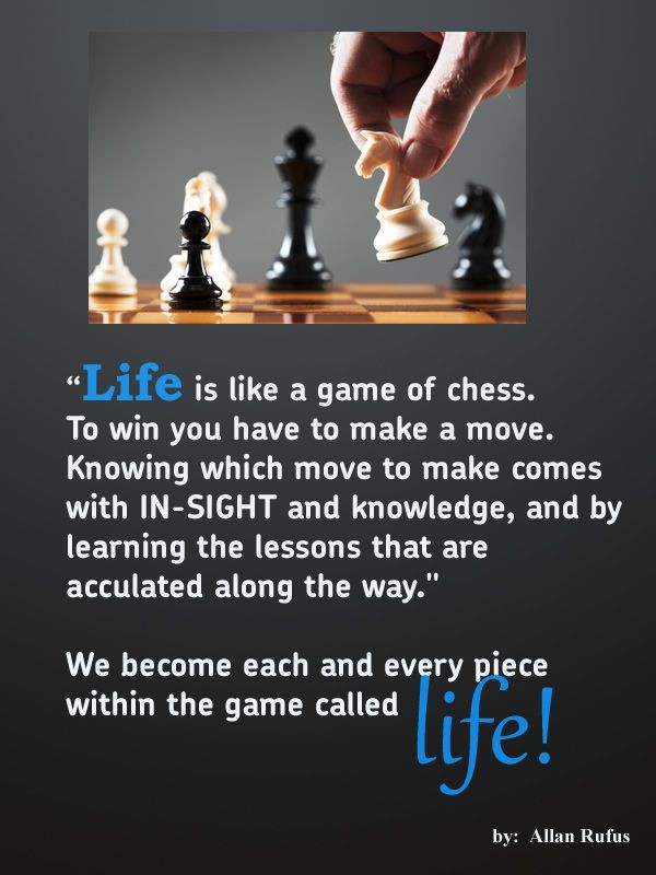 Chess Quote 12 Picture Quote #1