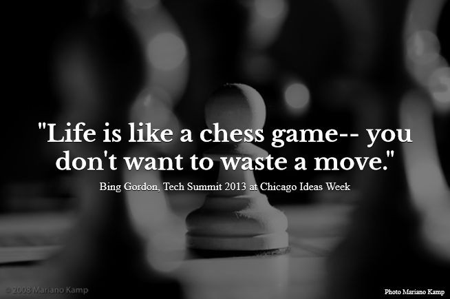 Life Is Like Chess Quote 1 Picture Quote #1