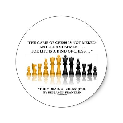 Life Is Like Chess Quote 3 Picture Quote #1