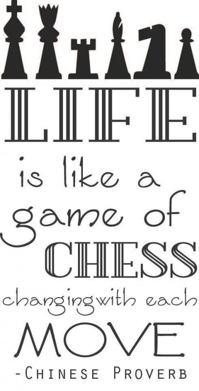 Life Is Like Chess Quote 5 Picture Quote #1