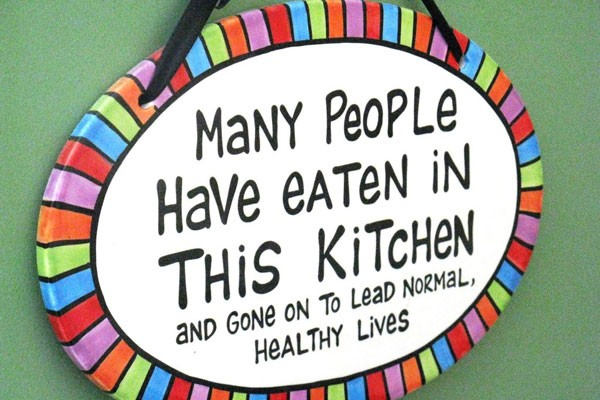 Funny Kitchen Quote 2 Picture Quote #1