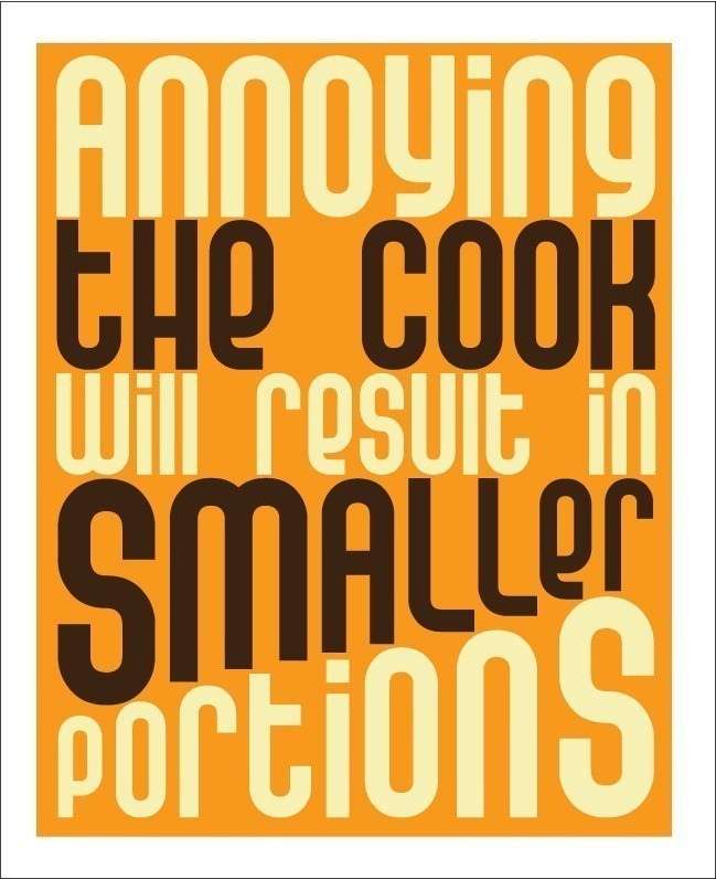 Funny Kitchen Quote 3 Picture Quote #1