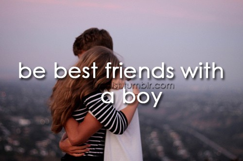 Boy Best Friend Quote 1 Picture Quote #1