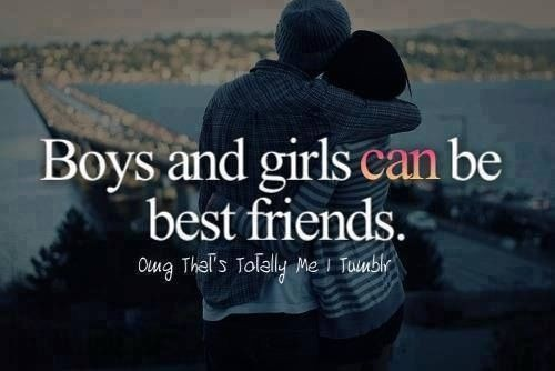 Boy Best Friend Quote 2 Picture Quote #1
