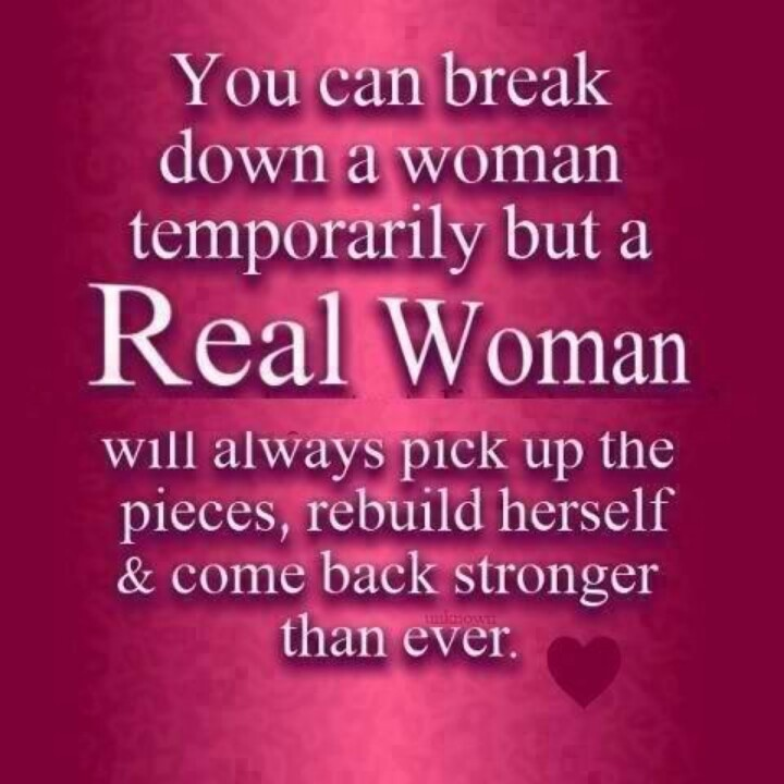 Real Women Quote 1 Picture Quote #1