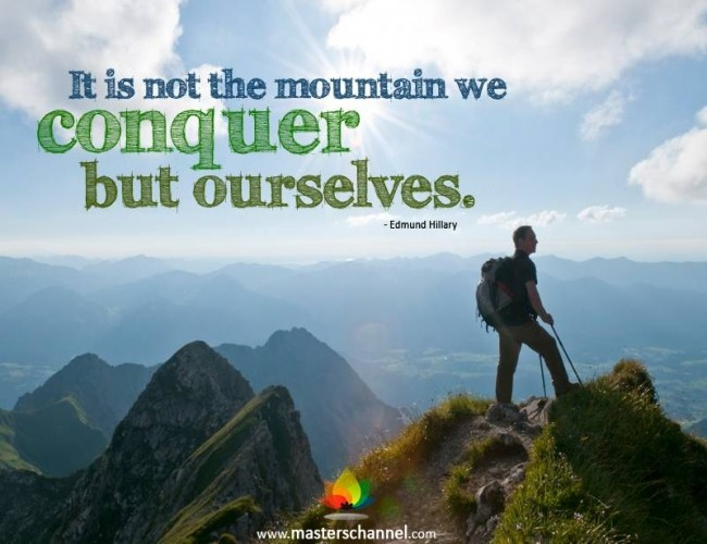 Mountain Quote 1 Picture Quote #1
