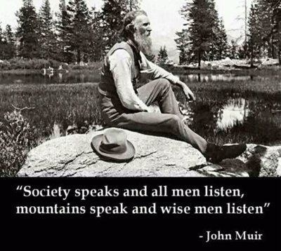 John Muir Mountain Quote 2 Picture Quote #1