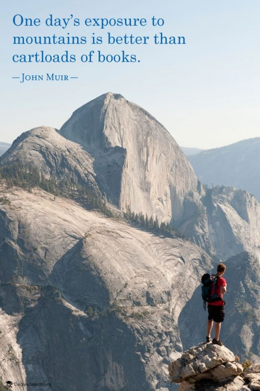 John Muir Mountain Quote 3 Picture Quote #1