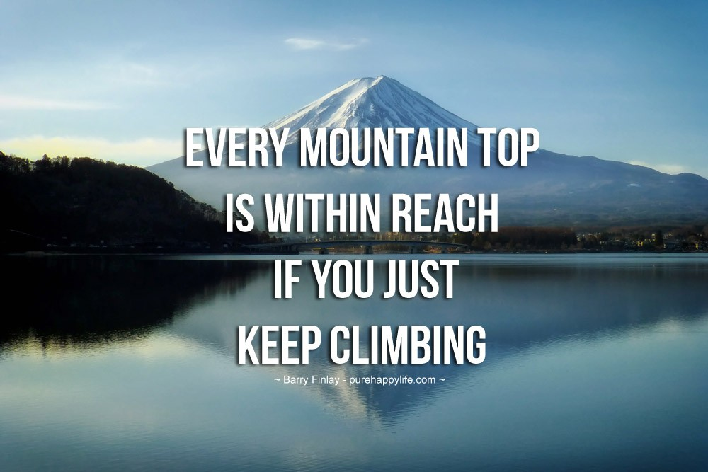 Mountain Quote 11 Picture Quote #1
