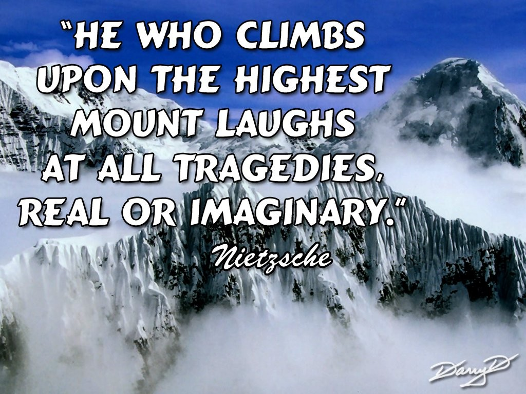 Highest Mountain Quote 1 Picture Quote #1