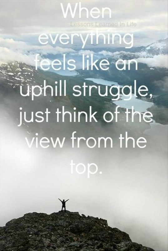 Mountain Quote Motivational 1 Picture Quote #1