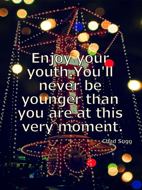 Youth Quote 1 Picture Quote #1