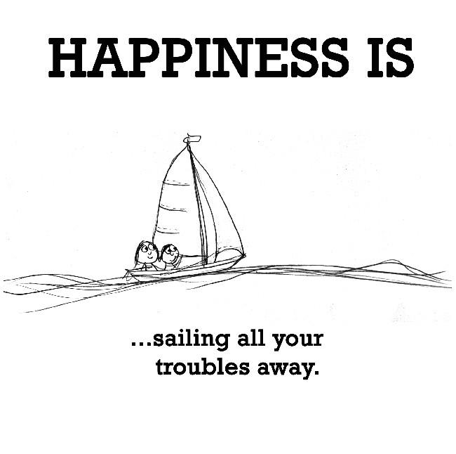 Happy Sailing Quote 1 Picture Quote #1