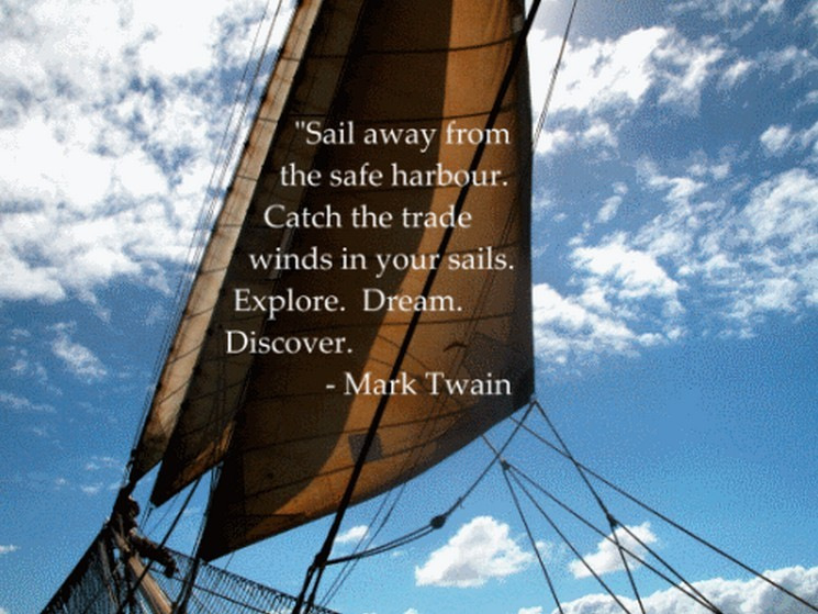 Safe Sailing Quote 1 Picture Quote #1