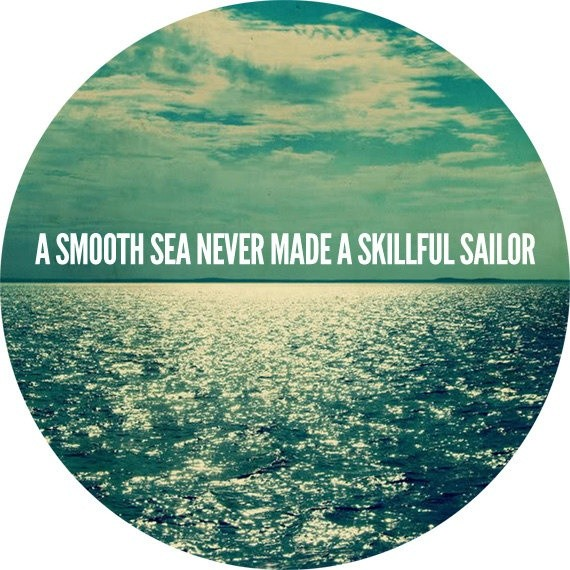 Smooth Sailing Quote 1 Picture Quote #1
