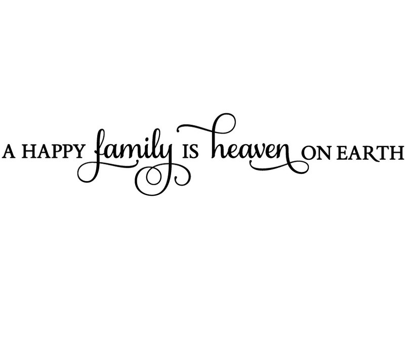 Happy Family Quote 1 Picture Quote #1