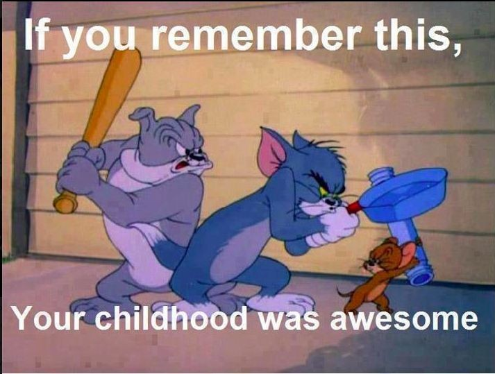 Tom And Jerry Cartoon Quote 1 Picture Quote #1