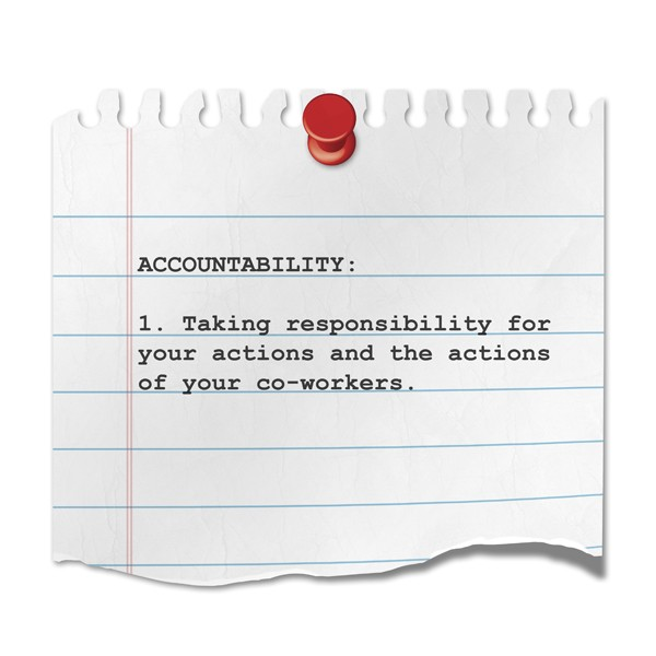 Employee Accountability Quote 1 Picture Quote #1