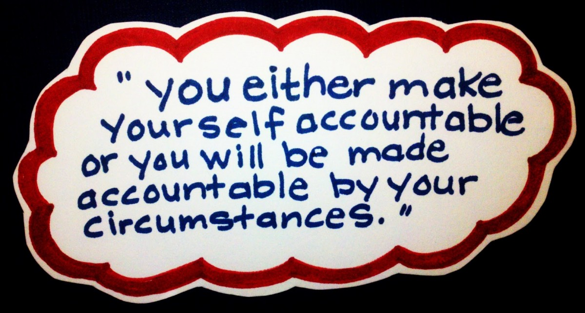 Accountability Quote 4 Picture Quote #1