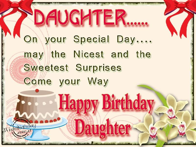 Birthday Quote For Daughter 1 Picture Quote #1