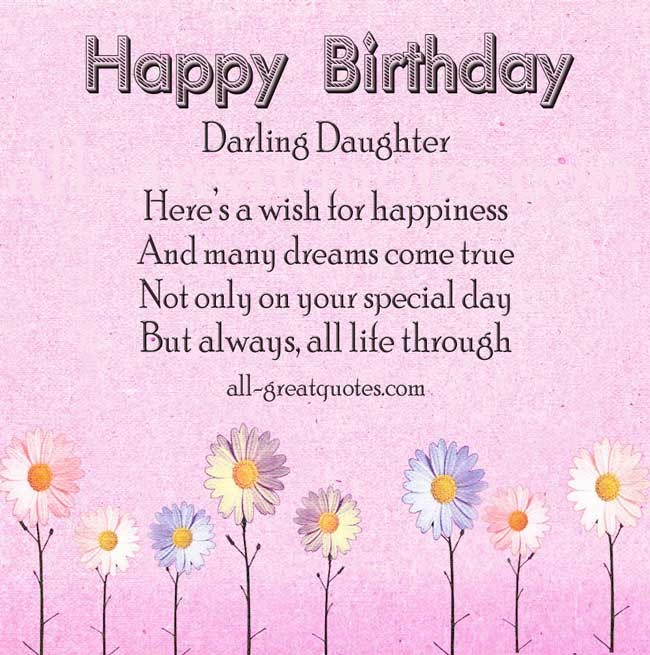 Birthday Quote For Daughter 2 Picture Quote #1