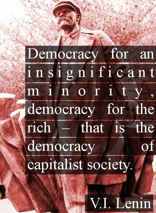 Democratic Society Quote 1 Picture Quote #1