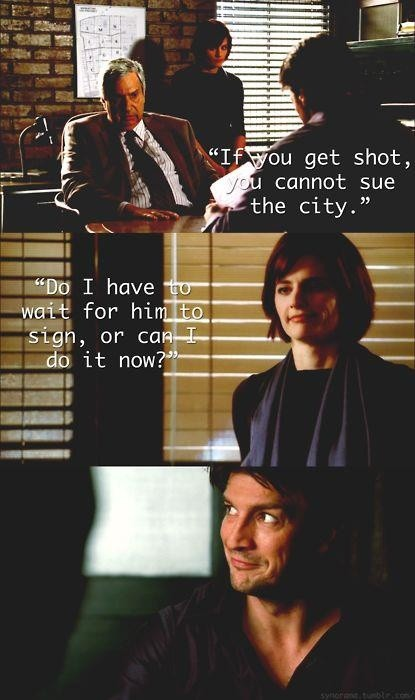 Castle Funny Quote 1 Picture Quote #1