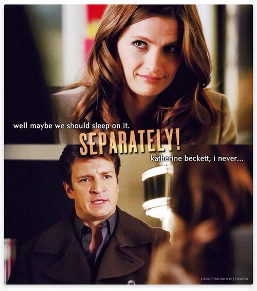 Castle Funny Quote 2 Picture Quote #1