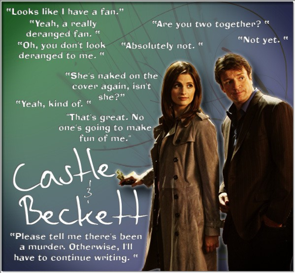 Castle Tv Show Quote 30 Picture Quote #1